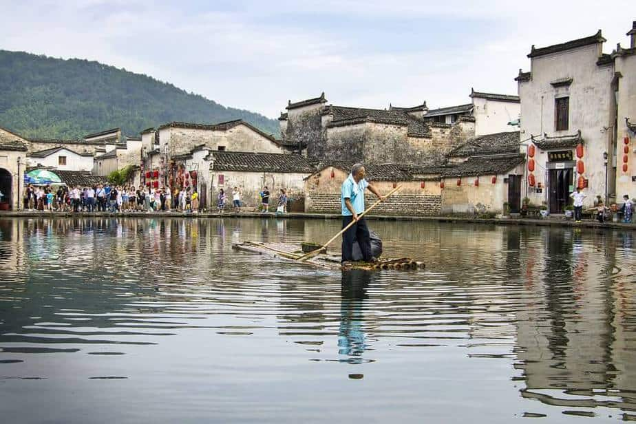 Hongcun ancent village